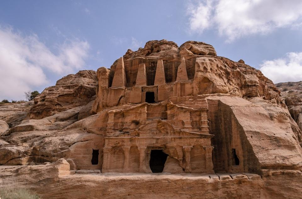 Jordan S Ancient Rose Red City Petra Added To Google