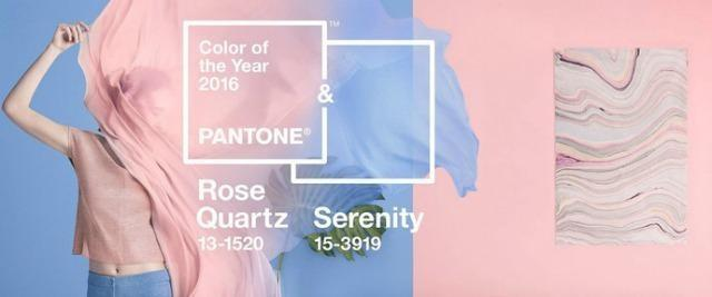 Rose quartz and serenity picked as 2016 s color of the for Color of the year 2016