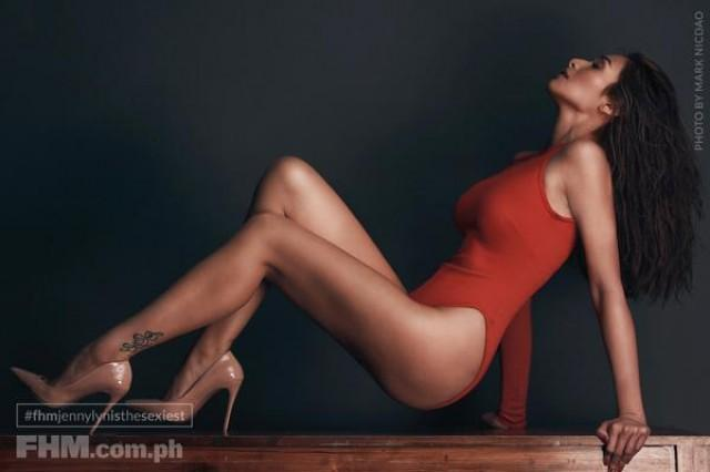 Jennylyn Mercado Starts The New Year On Fhm Cover