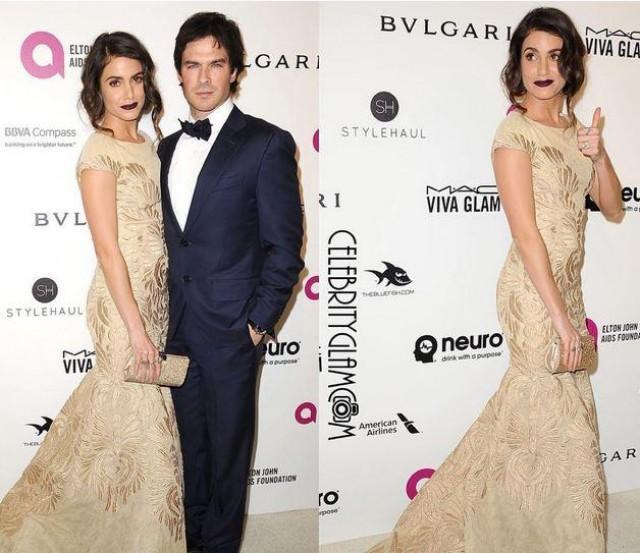 Twilight\' star Reed wears Francis Libiran to Elton\'s Oscars party ...