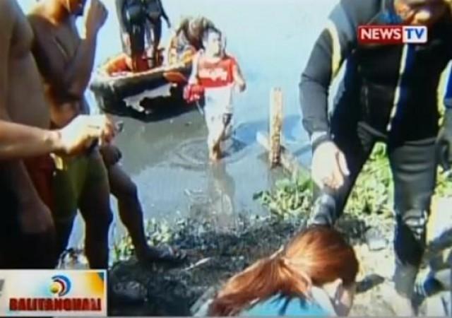 Na nawala nitong martes ng hapon sa floodway ng cainta rizal nang