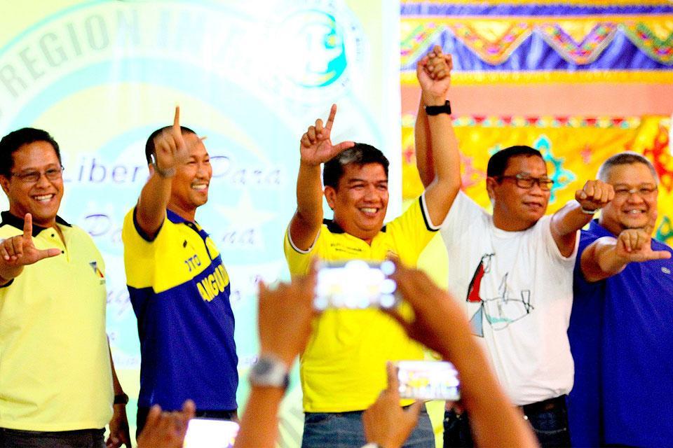Younger Mangudadatu Endorses Duterte At Lp Event In