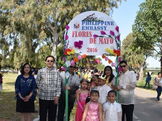 Hundreds of Pinoys in Israel gather for traditional