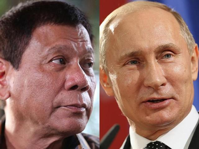 Image result for putin and duterte
