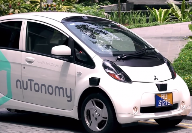 First driverless taxi hits the streets of Singapore