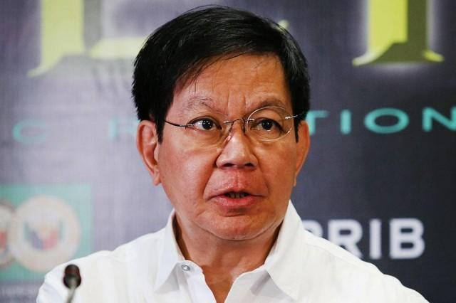 Image result for lacson with pnp