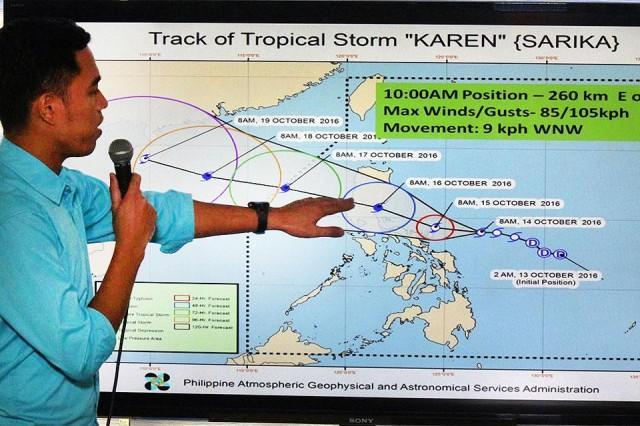 Typhoon Karen isolates parts of Central Luzon | News | GMA