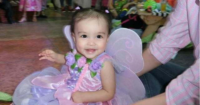 baby zia is the cutest fairy princess at friend s birthday
