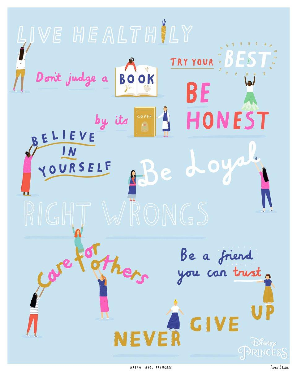 Image result for disney princess 10 principles posters