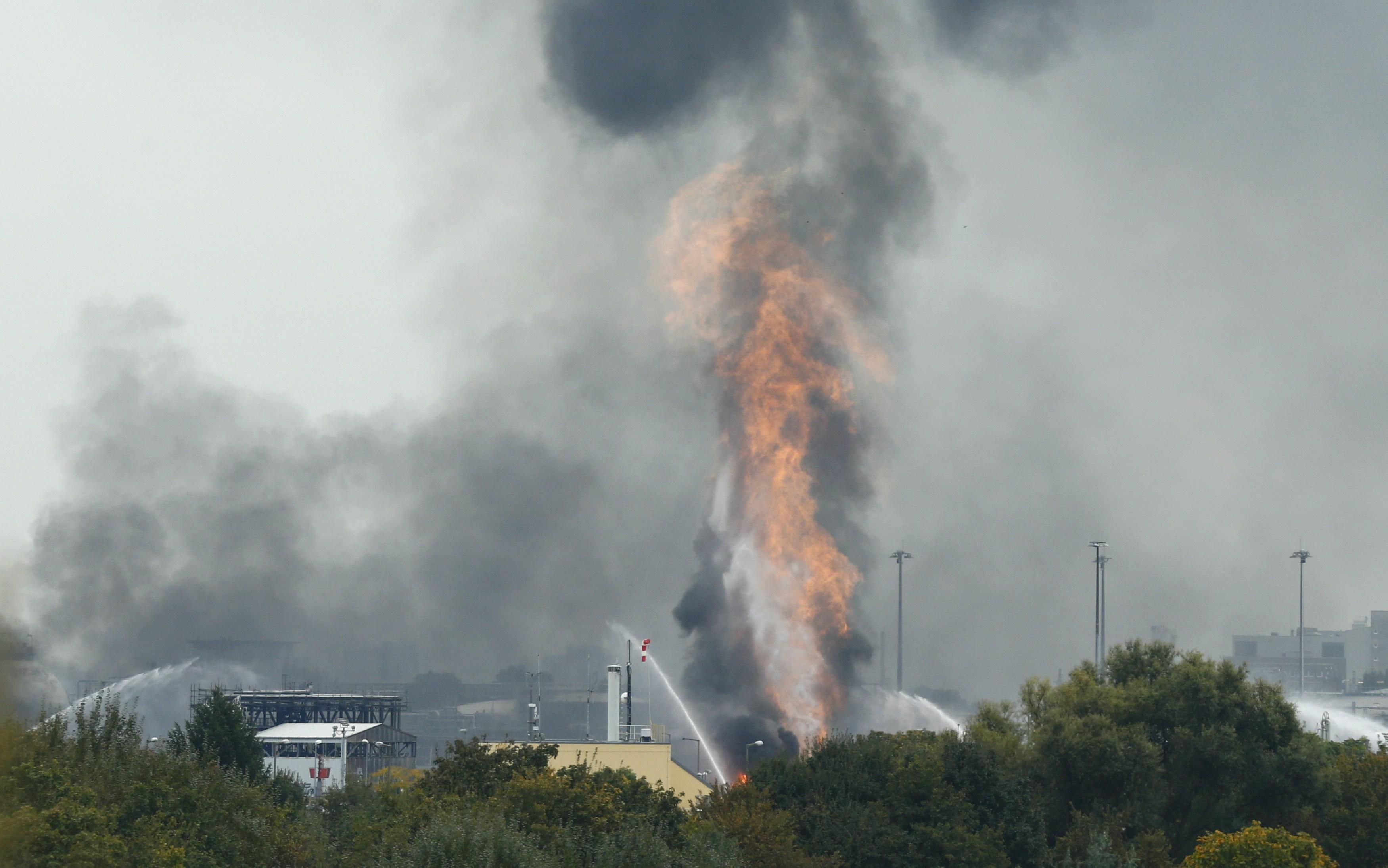 ludwigshafen explosion gas
