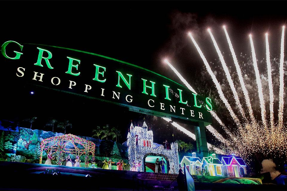 Greenhills Christmas Decor : Greenhills ping center sparkles with colorful