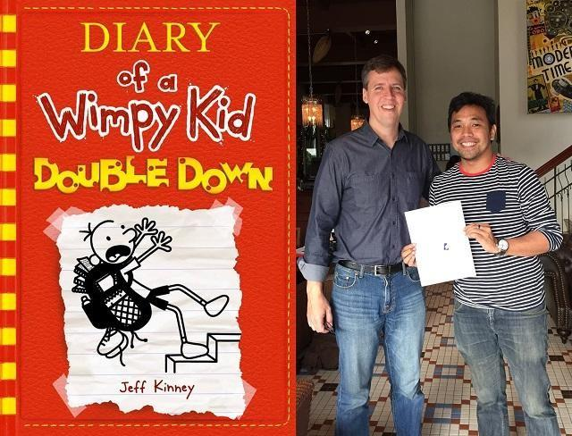 How does author jeff kinney write the diary of a wimpy kid books as the man behind the diary of a wimpy kid books jeff kinney is something of a rock star among kids the series follows the misdaventures of the so called solutioingenieria Images