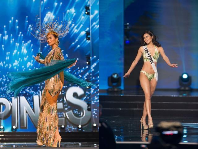 69a412260c23d Whether it's an emerald green dress or a shimmery gold gown, Maxine Medina  will slay in it. The Philippines' Miss Universe ...