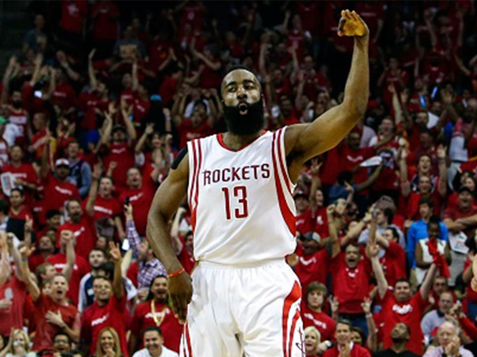 667efc2b1905 Harden ties career-high with 61 points in Houston Rockets  win ...