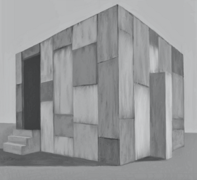 Mark Justiniani's digital study of the cube. Photo: Mark Justiniani.
