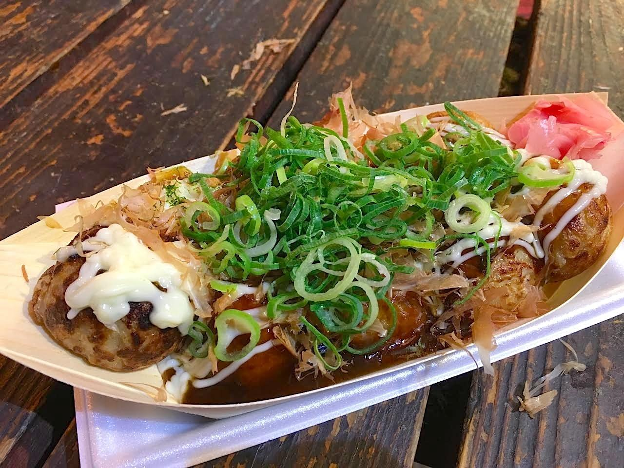 Must Eat Street Food In Osaka