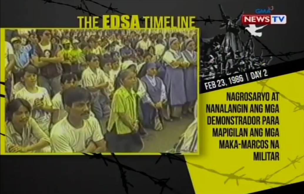 A timeline of the 1986 EDSA People Power Revolution | News | GMA ...