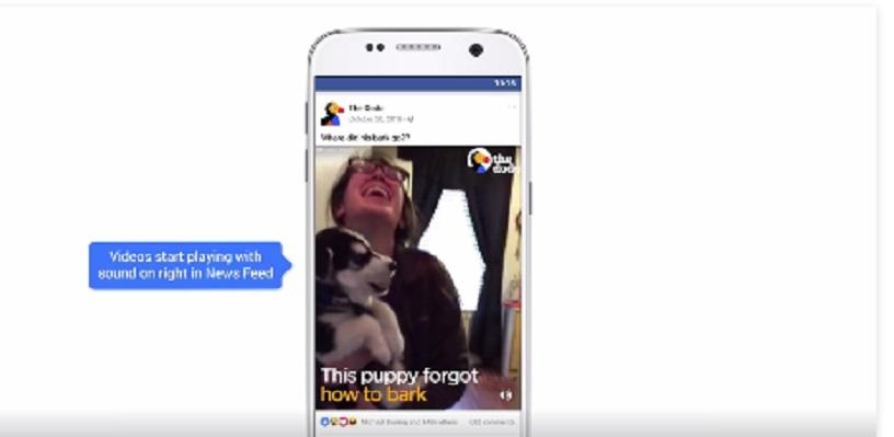 how to turn off autoplay sound on facebook