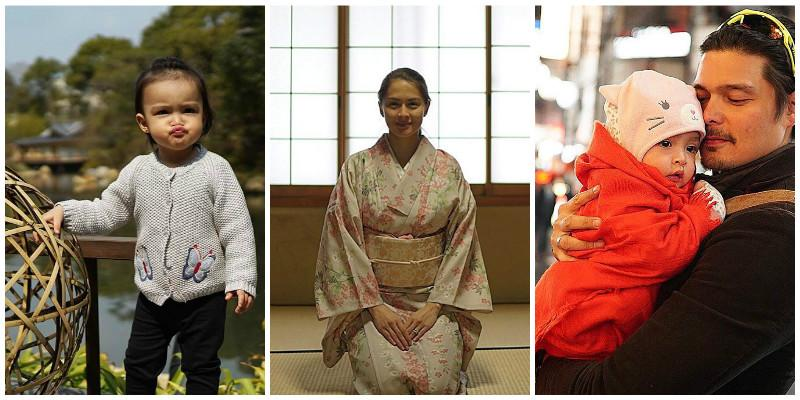 Dingdong, Marian, and Zia have the happiest time in Japan ...