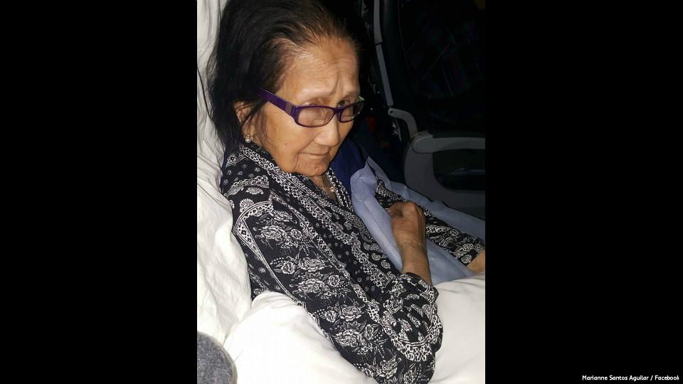 Kin says United yet to pay 94-year-old Pinay grandma for seat downgrade