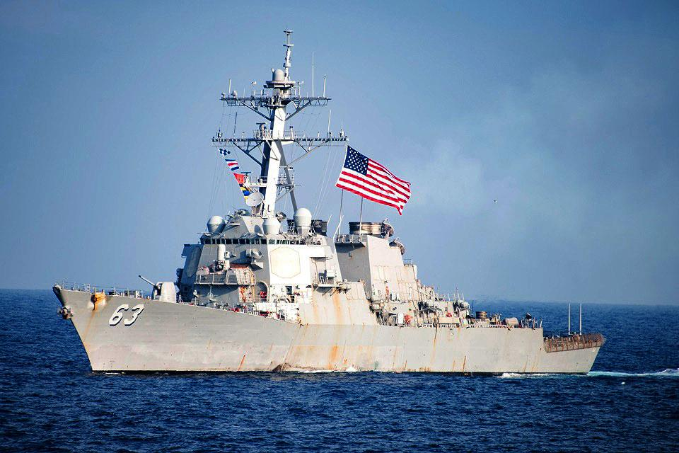 Taiwan says two US warships pass through Taiwan Strait | News | GMA