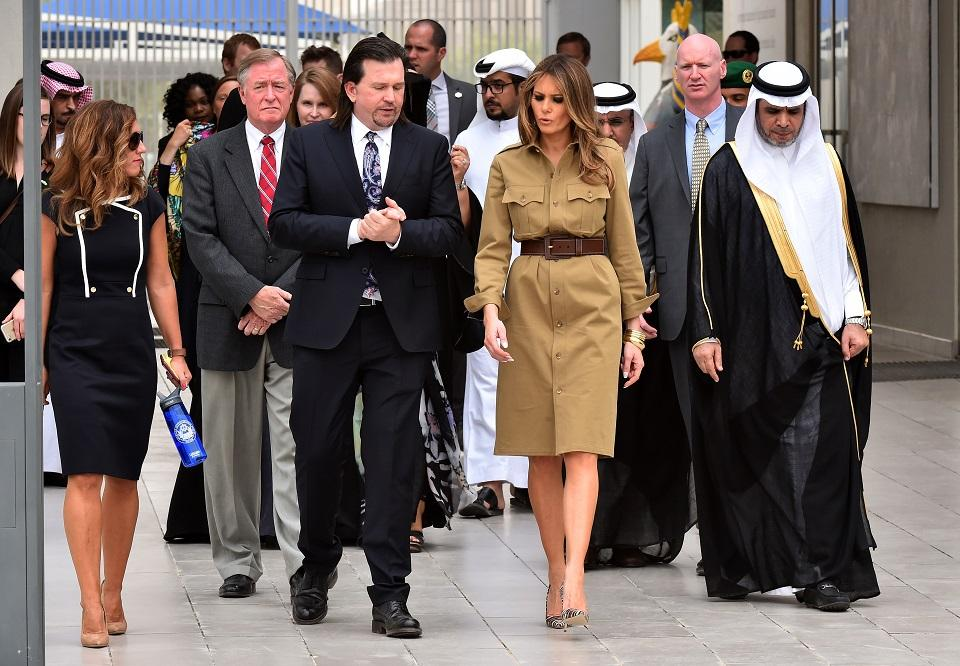 What Melania Wore: First ladys Saudi style a big deal