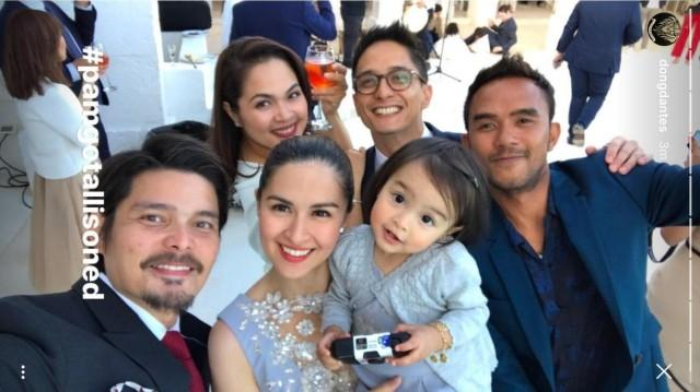 Marian, Dingdong, Juday, and Ryan attend a wedding in Italy ...