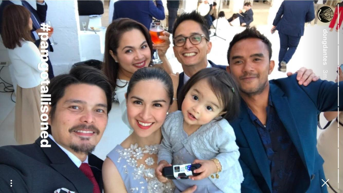 Marian, Dingdong, Juday, and Ryan attend a wedding in ...