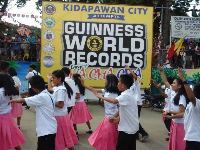 kidapawan just broke the guinness world records for largest