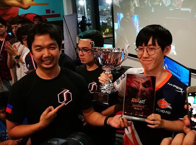 The champion, JDCR