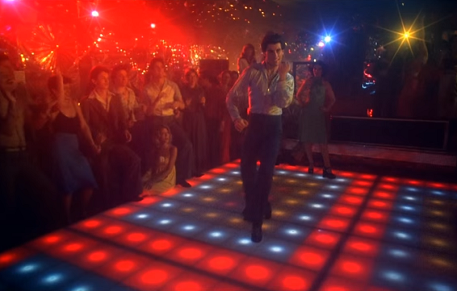 You could be dancing   on 'Saturday Night Fever' disco floor