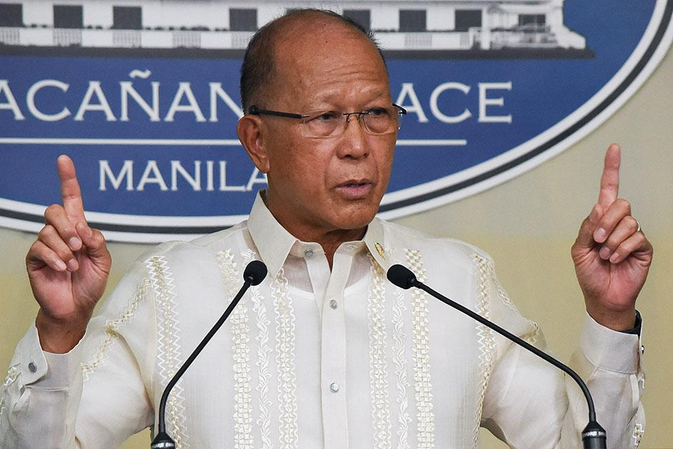 Lorenzana stands by claim 4,000 NPAs surrendered since January