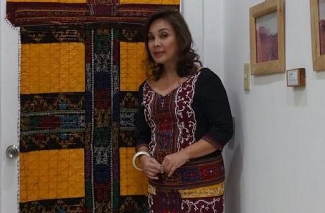 Senator Loren Legarda wears Maranao outfits to SONA 2017 to