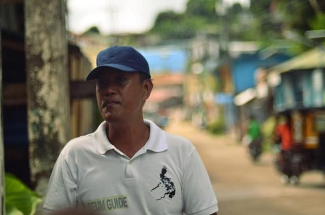 Pastor Villanueva, 47, is a tour guide and the grandson of a survivor