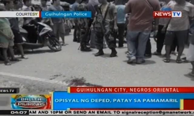 DepEd official shot dead in Negros Oriental | News | GMA
