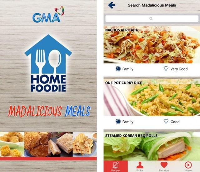 Make madaliciousmeals at home with this app lifestyle gma news the home foodie madaliciousmeals mobile app is the cooking companion of home foodies drew and iya villania arellano just like drew and iya forumfinder Image collections