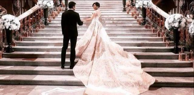 The making of Dr. Vicki Belo\'s blush Michael Cinco wedding gown ...