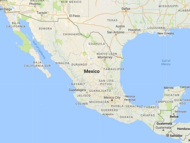 More Than 100 Dead In Major Earthquake Near Mexico City News: Mexico City Earthquake Map At Infoasik.co
