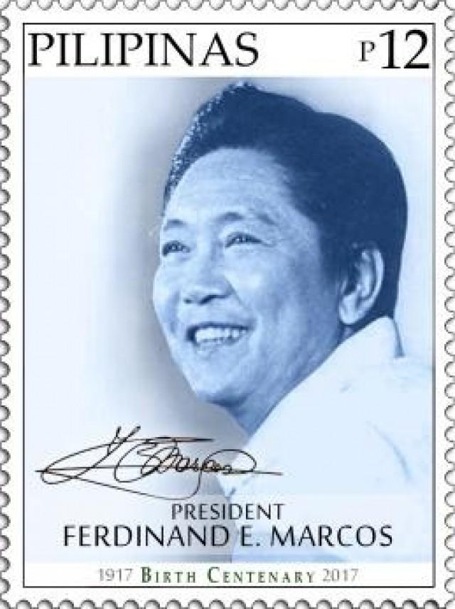 PhlPost issues stamps for ex-Pres. Marcos\' birth centenary | News ...