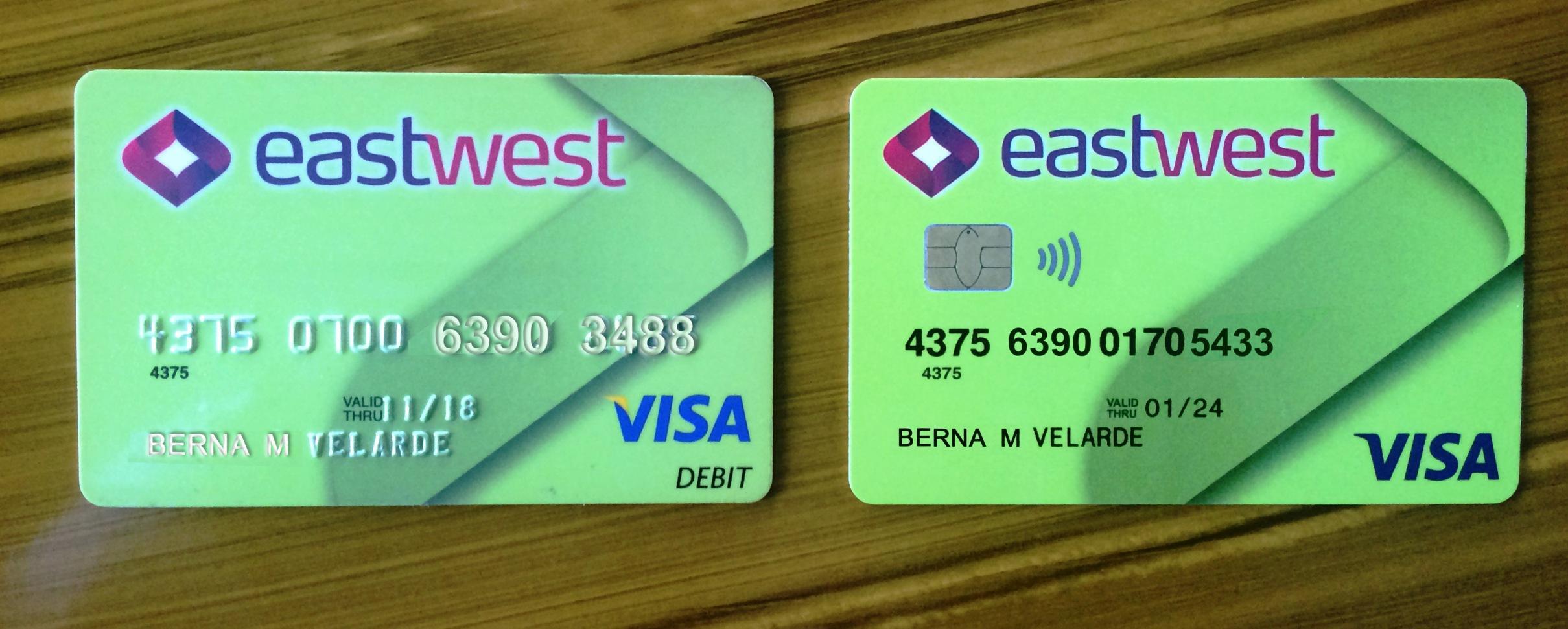 EastWest Bank to deactivate non-EMV debit cards starting Dec. 4 ...