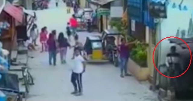 man shot at in front of crowd in sasmuan pampanga news gma news