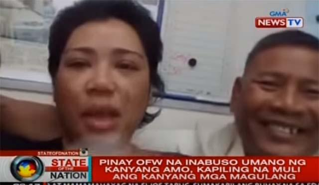 abused ofw An overseas filipino worker (ofw) who recently returned to the philippines has made an urgent appeal to help rescue 20 other women ofws in saudi arabia, some of whom are being treated as sex slaves.