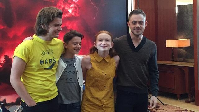 'Stranger Things' cast shares life between takes and after ...