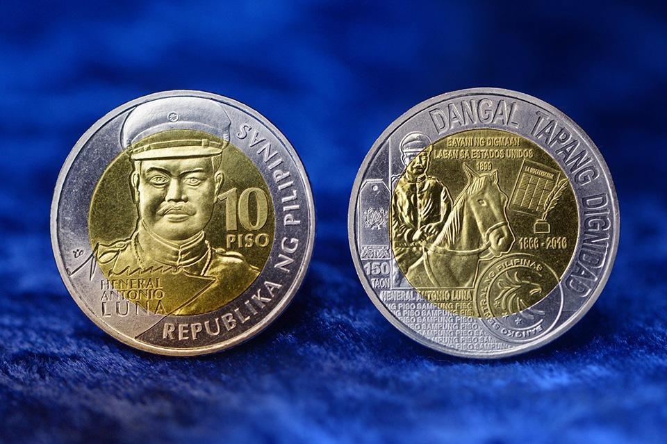 BSP Issues Limited Edition Antonio Luna Ten-peso Coins