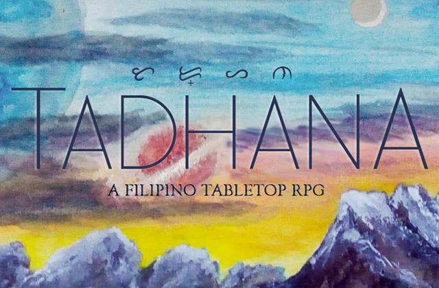 Tadhana' is a Filipino tabletop RPG that beautifully