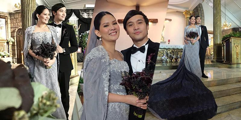 Chynna Ortaleza and Kean Cipriano tie the knot in church