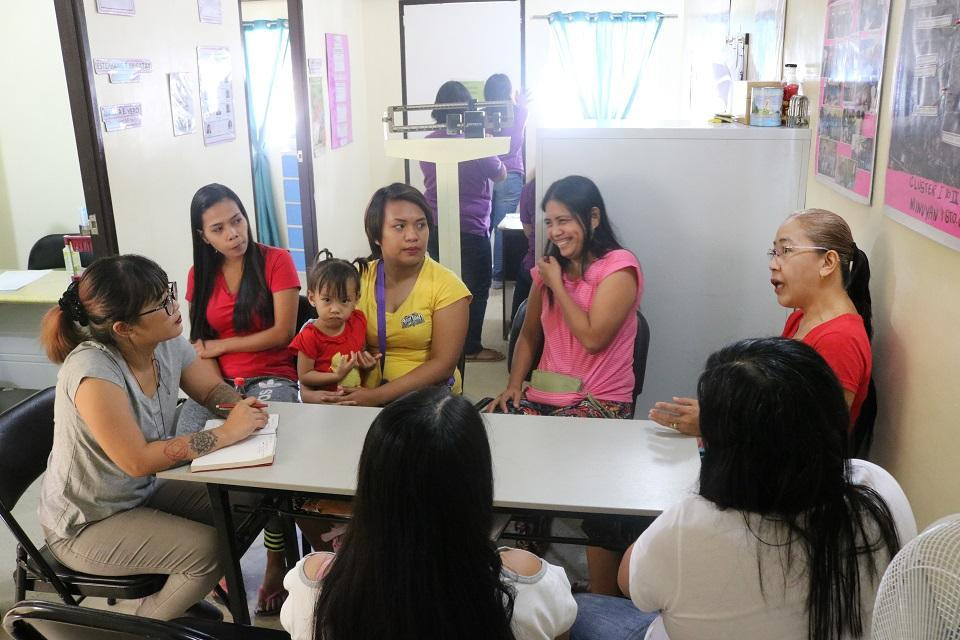 Access to contraceptives has greatly improved their lives, say these women from San Jose Del Monte, Bulacan. Photo: Aya Tantiangco