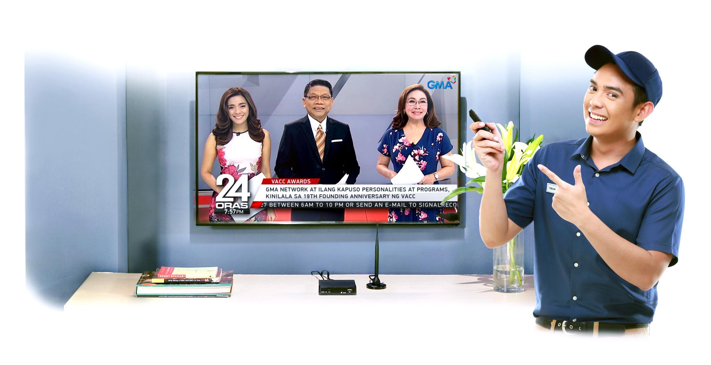 Gma Digital Tv Signal Now Covers Mega Manila Scitech