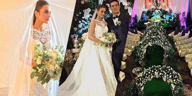 Scenes at Max Collins and Pancho Magno's wedding | Showbiz ...