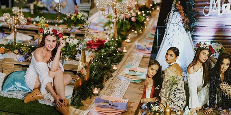 Max Collins\' hippie garden bridal shower | Showbiz | GMA News Online